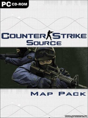 900 карт для Counter-Strike: Source